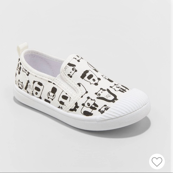 Cat & Jack Other - NWT Cat & Jack Girls Laif Panda Slip On Sneakers